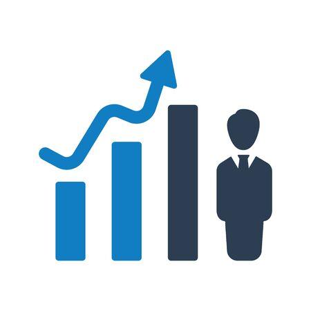 Financial Upward Icon, Trending Arrow Icon