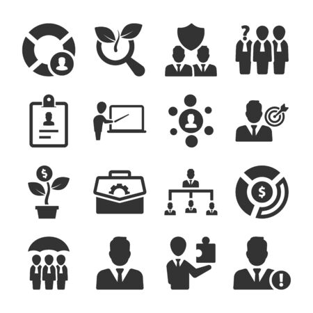 Business pro Icons Set 05