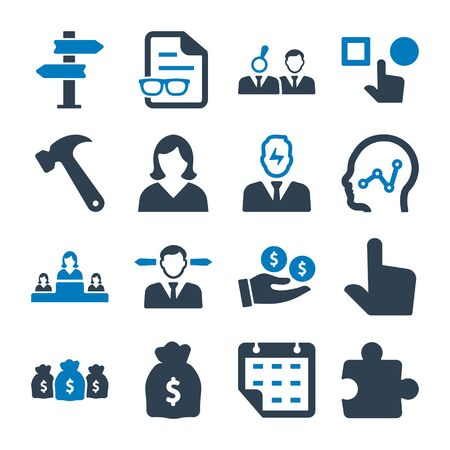 Business pro Icons Set 01