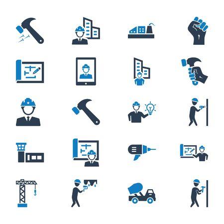 Construction Icons Set 01