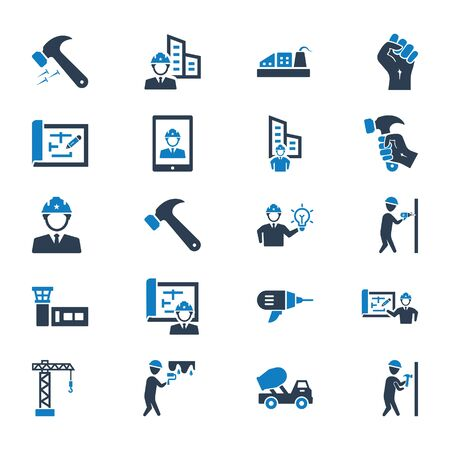 Construction Icons Set 01
