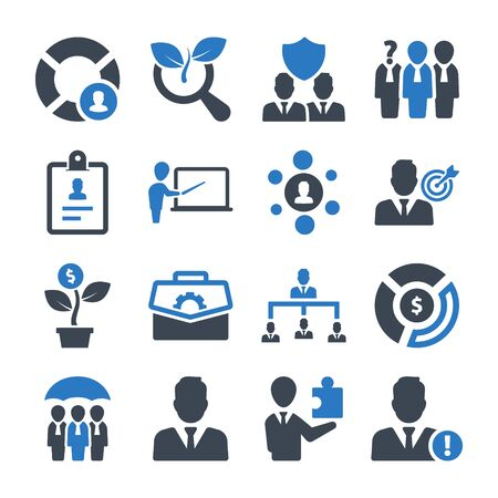 Business pro Icons Set 03