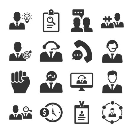 Business pro Icons Set 02