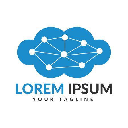 Data cloud logo