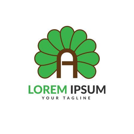A letter logo, Letter A logo