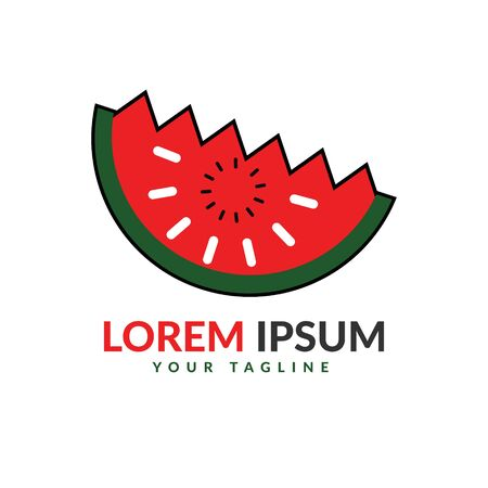 Watermelon Logo Vettoriali