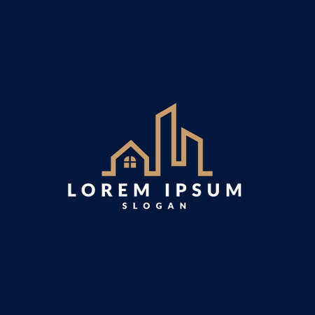 Real Estate , Property, modern and Construction Logo design