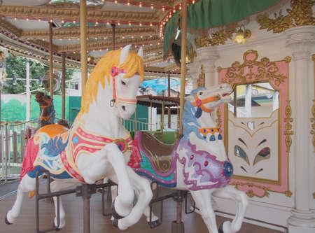 Carosel Horses Stock Photo - 22520432