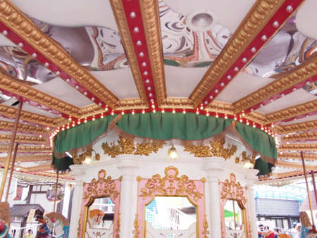 merry go round: Merry go round  Stock Photo