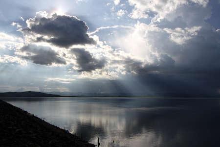 shine: Shine behind the cloud