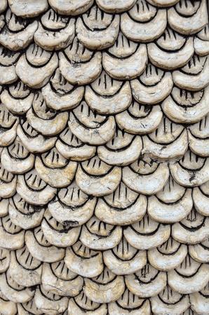 scales Stucco thai style photo