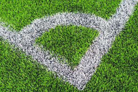 conner: soccer field grass artificial Green grass Conner