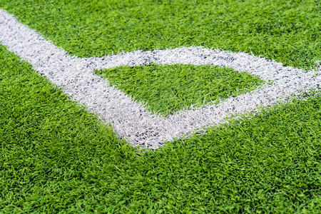 conner: Soccer field grass conner,Green artificial grass