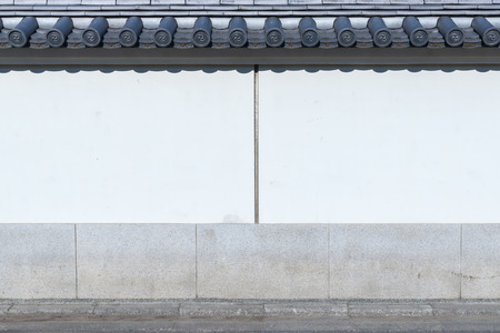 asakusa: Wall Temple, Asakusa, Tokyo, Japan
