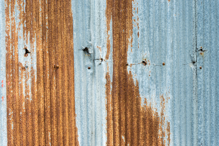 rusty: Zinc rusty