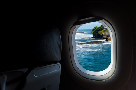 windows porthole in aircraft see Beautiful destination travel
