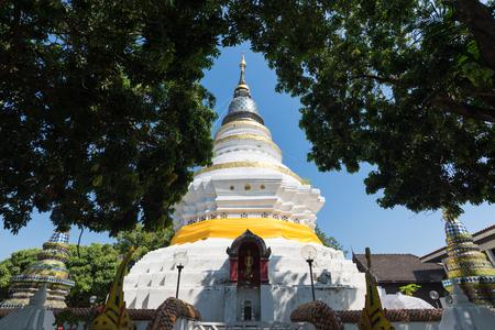 Wat Gate Khar Rnam Buddha Temple Near mae ping river, Chiang Mai, Thailand