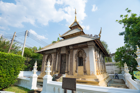 Wat Duang Dee buddhist temples in Chiang mai province, Thailand Stok Fotoğraf