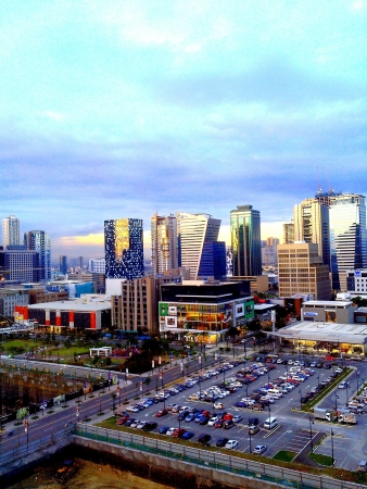 urban: The fort bonifacio global city taguig city asia philippines