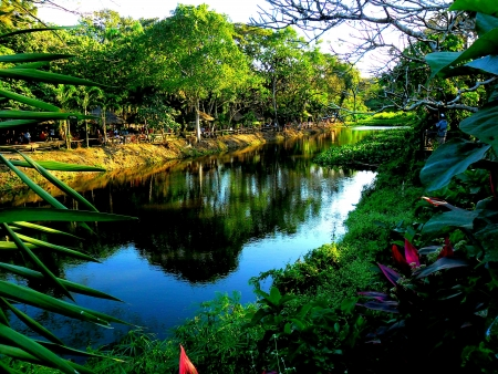 La mesa eco park in asia philippines