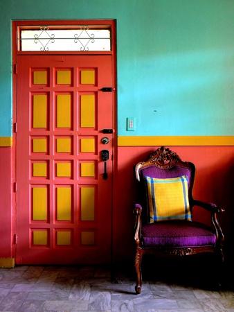 throw cushion: Colorful living room