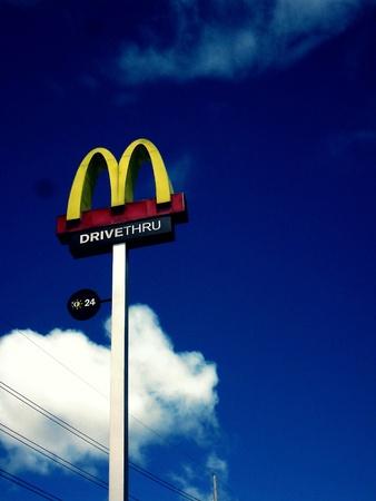 mcdonald: Mcdonald sign