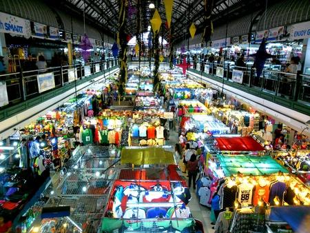 Bazaar Shops in greenhills, san juan city in philippines, asia Stock Photo