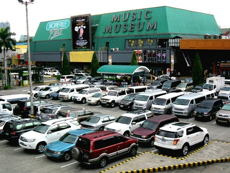pants: Music museum in greenhills, san juan city in philippines, asia