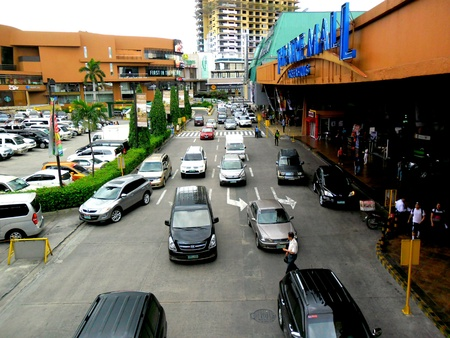 Theater mall and promenade in greenhills, san juan city in philippines, asia