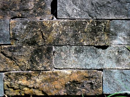 texture: Concrete brick wall texture