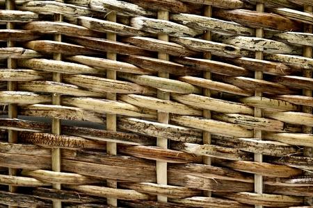 weave: Texture pattern , woven wood basket