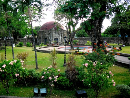 Paco Park and cemetery in manila city, philippines in asia