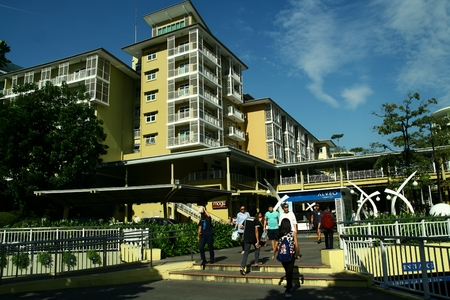 Serendra Park in Bonifacio Global City in the Philippines