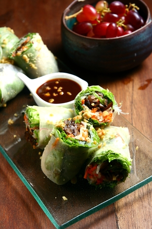 spring roll: Vegetable spring roll