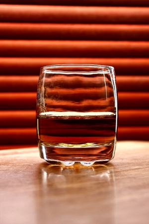 alcoholic drink: Alcoholic drink on a table Stock Photo