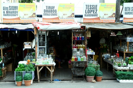 Stores in dapitan arcade, manila, philippines selling home decors and other housewares