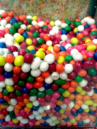 hard sell: Colorful candies