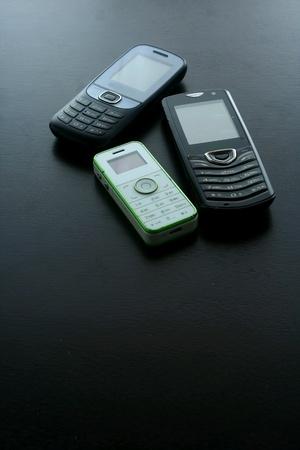 Classic basic cellphone Stock Photo