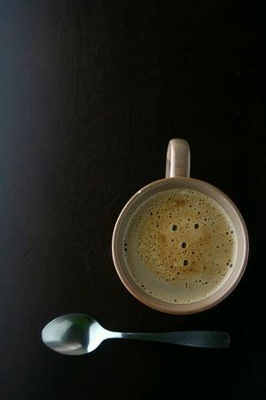 teaspoon: Coffee and teaspoon