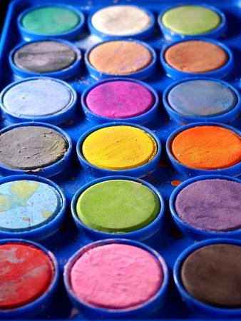 pallette: Pallette des couleurs de l'eau