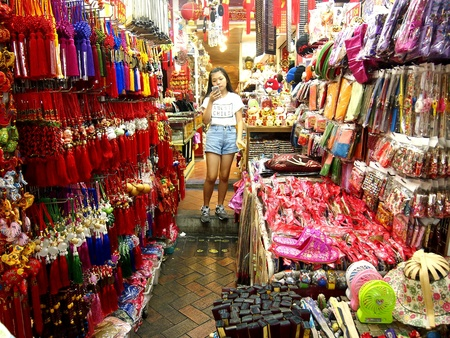 pillows: Shops and stores in Chinatown in Singapore, Asia