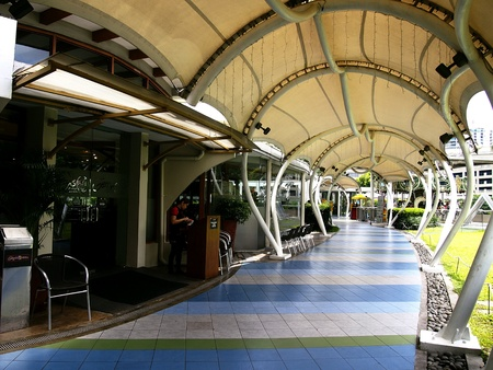 Sky Garden in Sm City North Edsa in Quezon City, Philippines