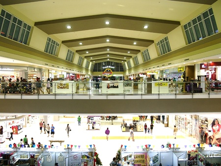 industry: Robinsons Place mall in Antipolo City, Philippines Stock Photo