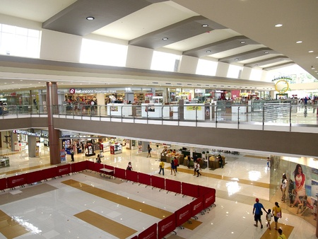 architecture: Robinsons Place Antipolo in Antipolo City, Philippines Stock Photo