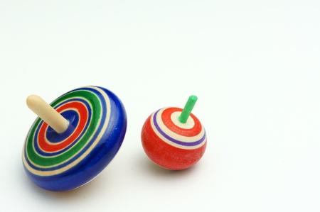 Giroscopio giocattolo giapponese Archivio Fotografico