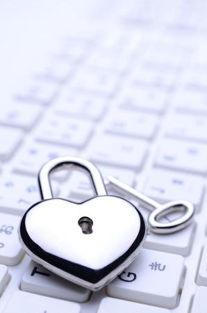 heart-shaped key keyboard