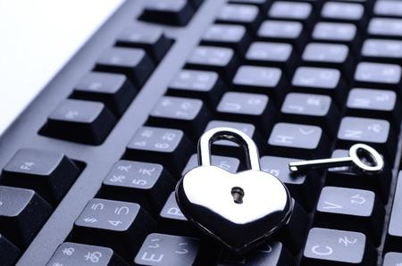 input devices: heart-shaped key keyboard