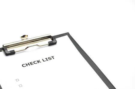 checklist photo