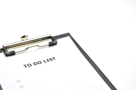 to do list Stock Photo - 10794188