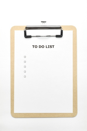 to do list Stock Photo - 11142775
